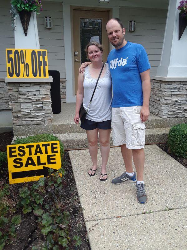We Enjoy Going to Estate Sales