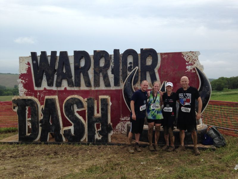 Dominating the Warrior Dash