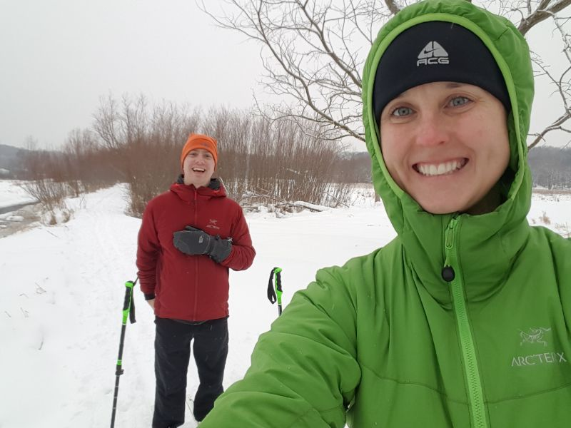 Cross-Country Skiing and Snowshoeing are a Favorite  Wintertime Activity