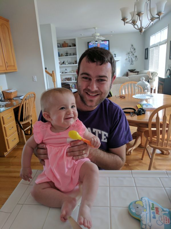 Matt With Little Clara