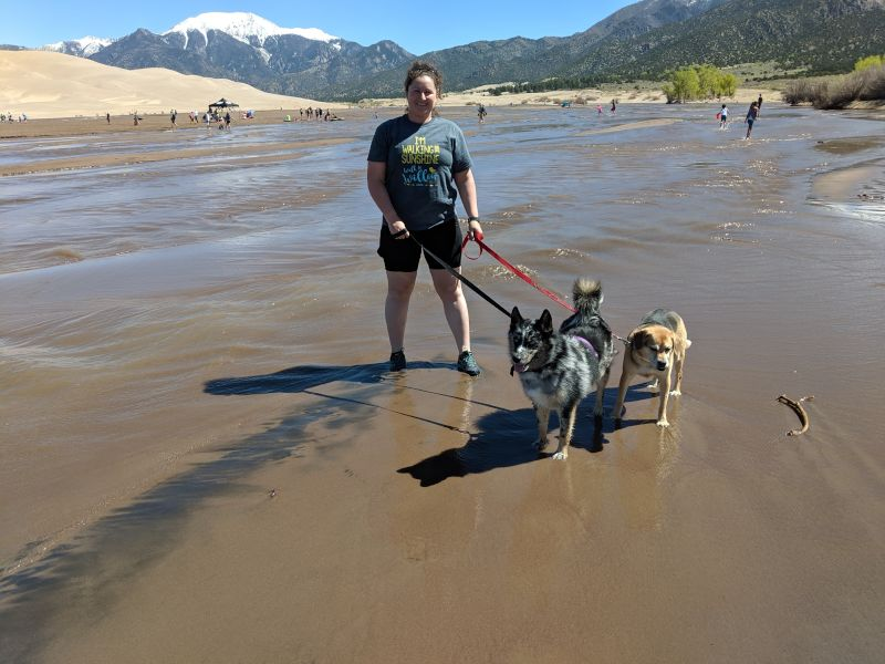 With Toby & Specko in Colorado