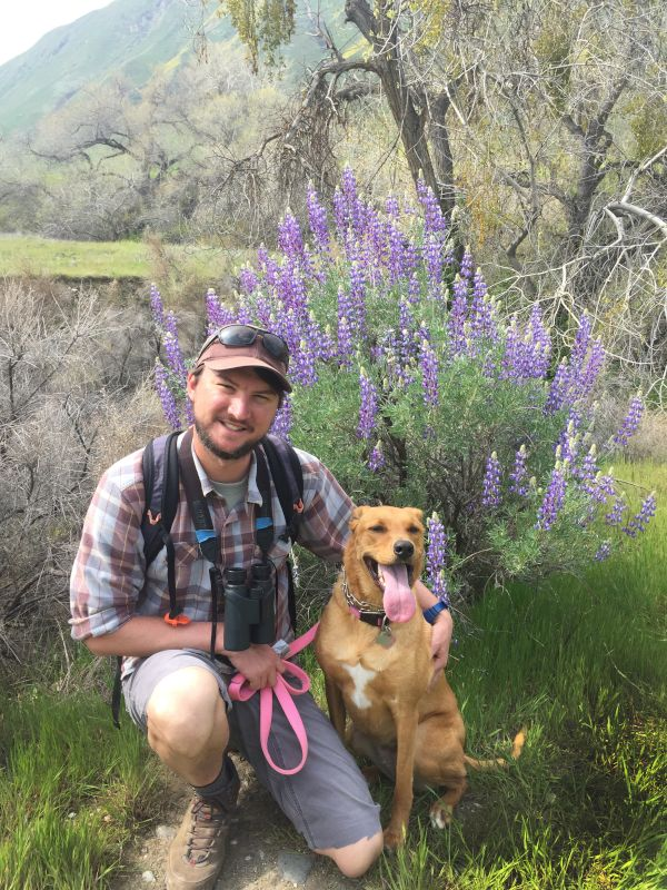 Hiking With Willow