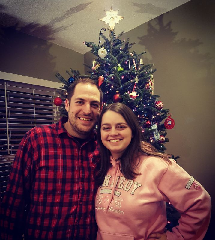 Christmas Tree is Up & We're Happy!