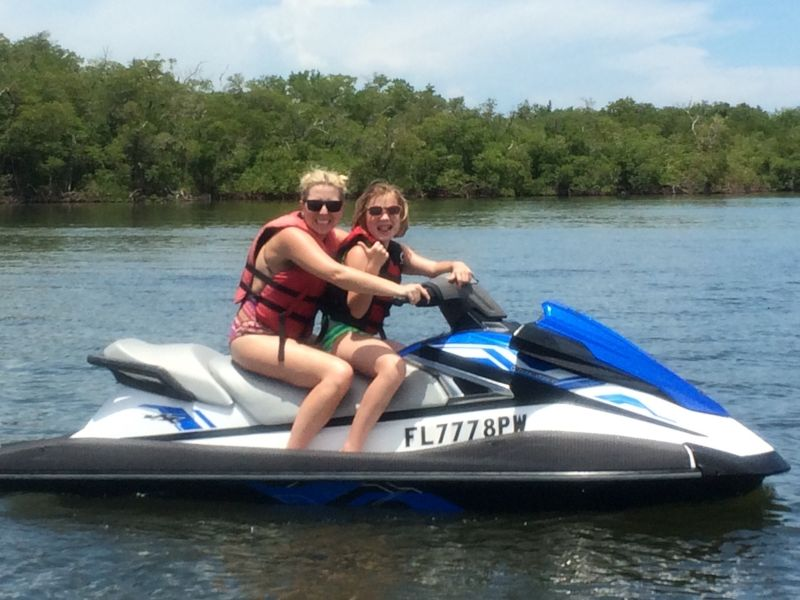 Jet Skiing With Our Niece