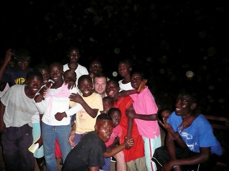 Justin in Ghana