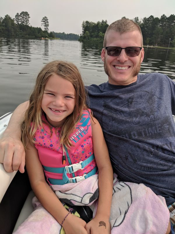 Lake Time With Our Niece