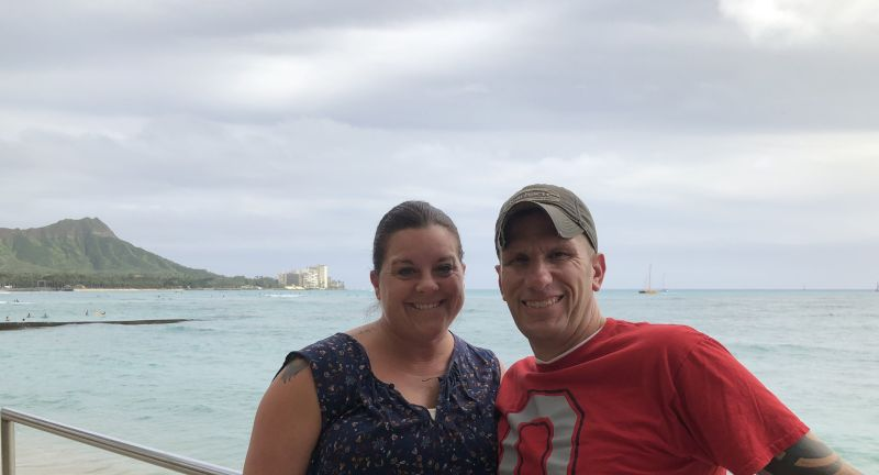 Marriage Retreat With a Beautiful View of Diamond Head
