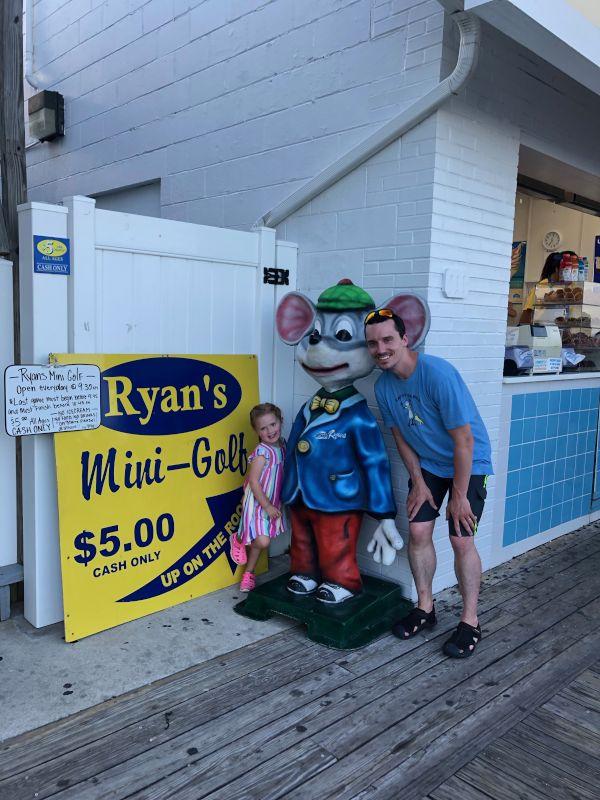Boardwalk Fun With Uncle Ryan