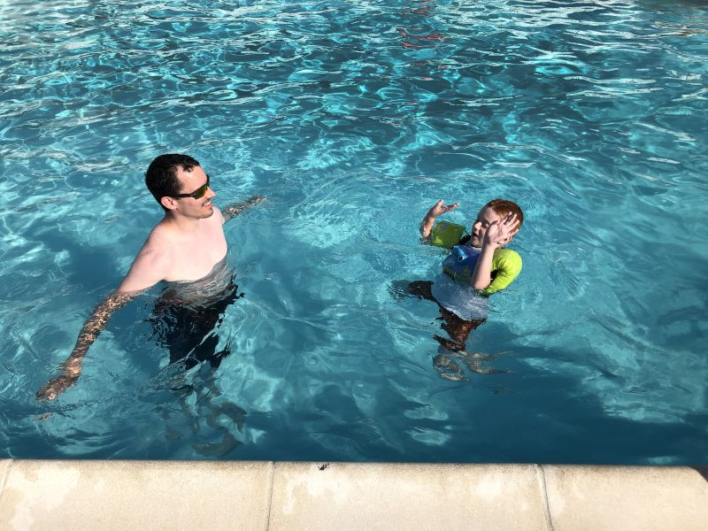 Cooling Off With Uncle Ryan