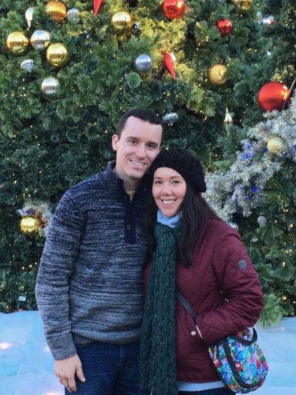 Christmastime at Busch Gardens
