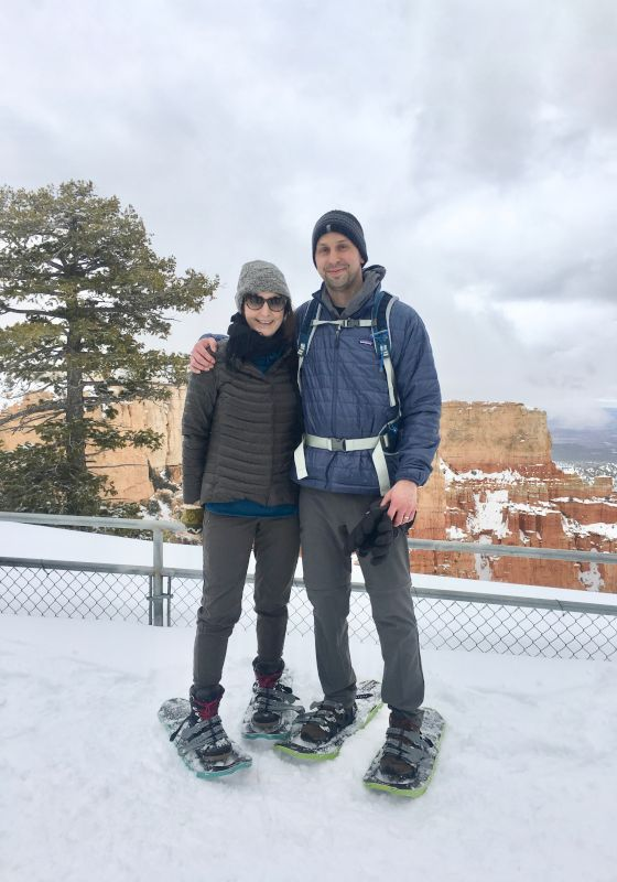 Snowshoeing in Bryce Canyon
