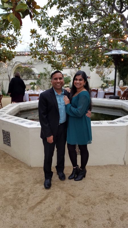 At a Friend's Wedding in California
