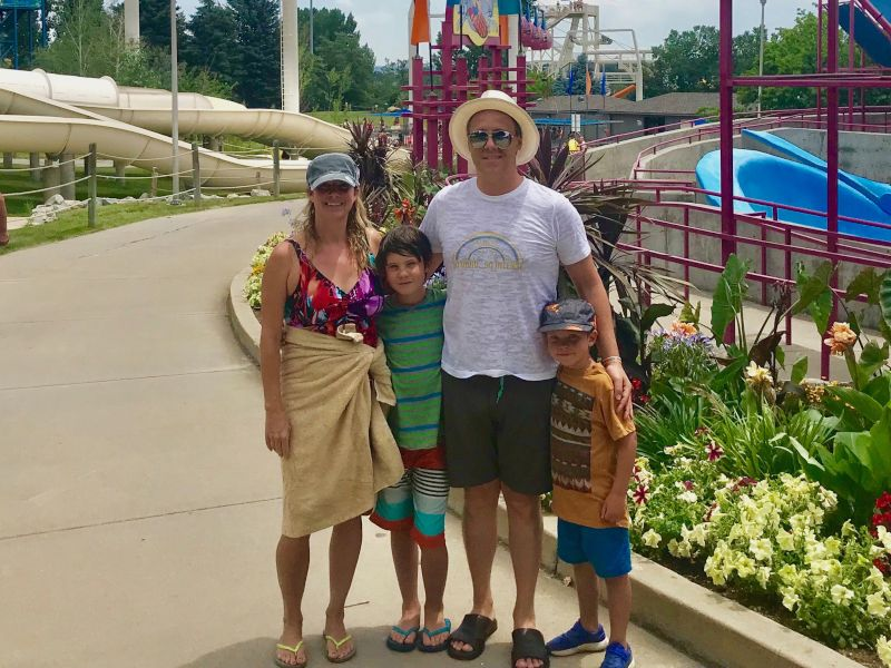 A Fabulous Day at the Water Park with Our Godsons