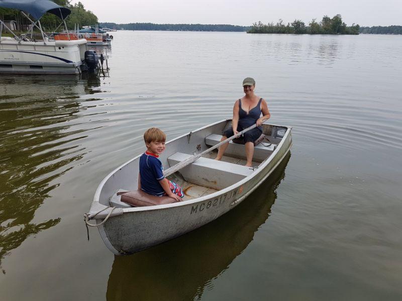 Fun on the Lake in Michigan