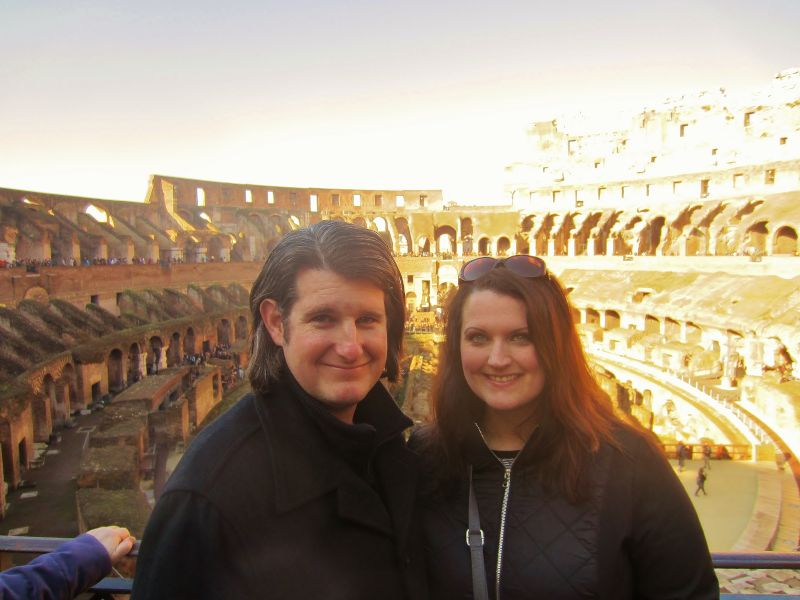Exploring the Colosseum in Rome, Italy
