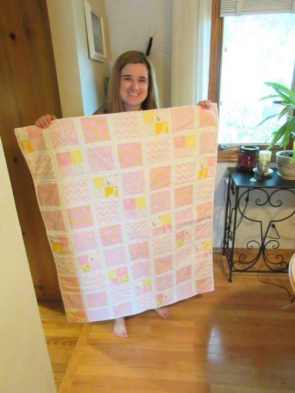 A Baby Quilt Renee Made