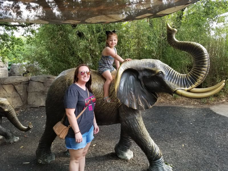 Enjoying the Zoo With Our Nieces