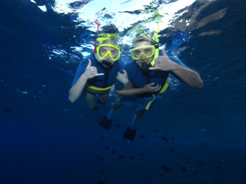 Snorkeling Together
