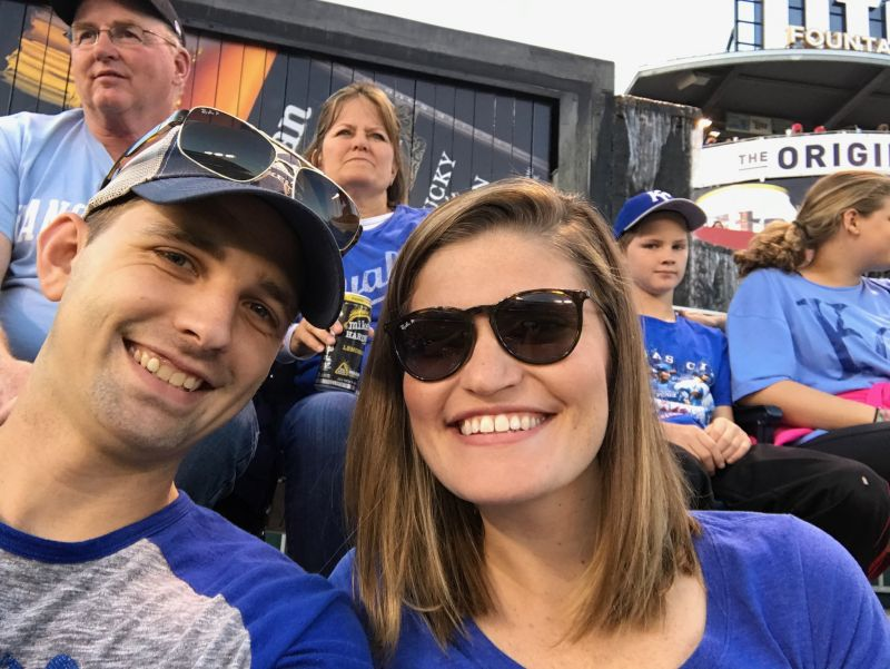 Cheering on the Royals!