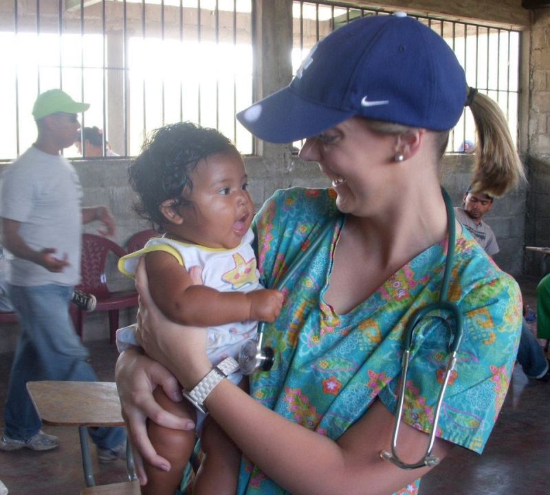 Patti on a Medical Mission Trip