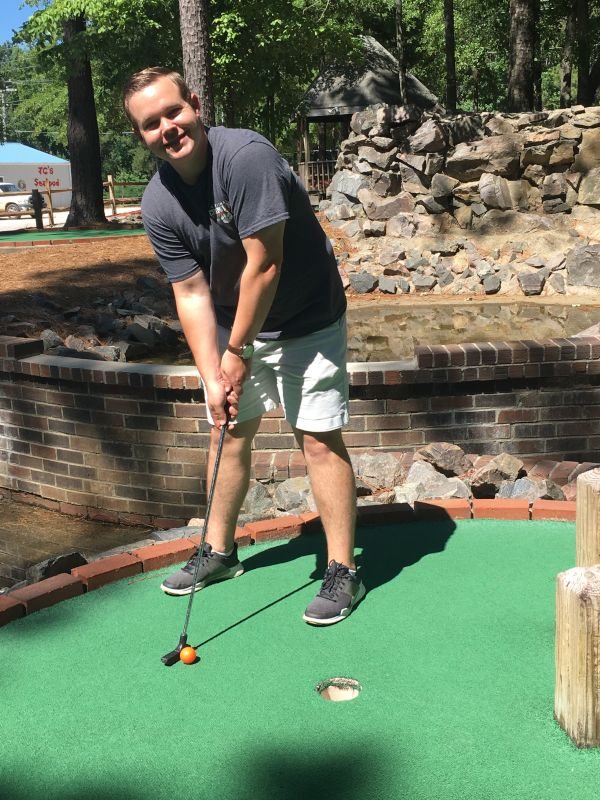 Josh Loves Mini Golf