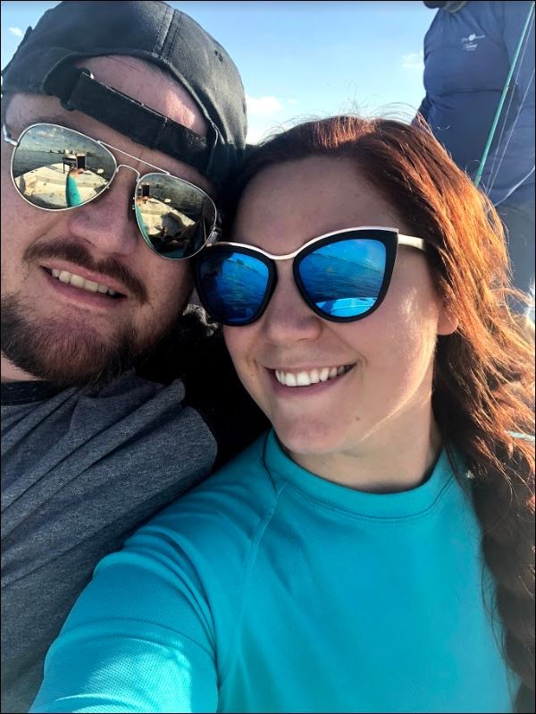 All Smiles on a Fishing Excursion