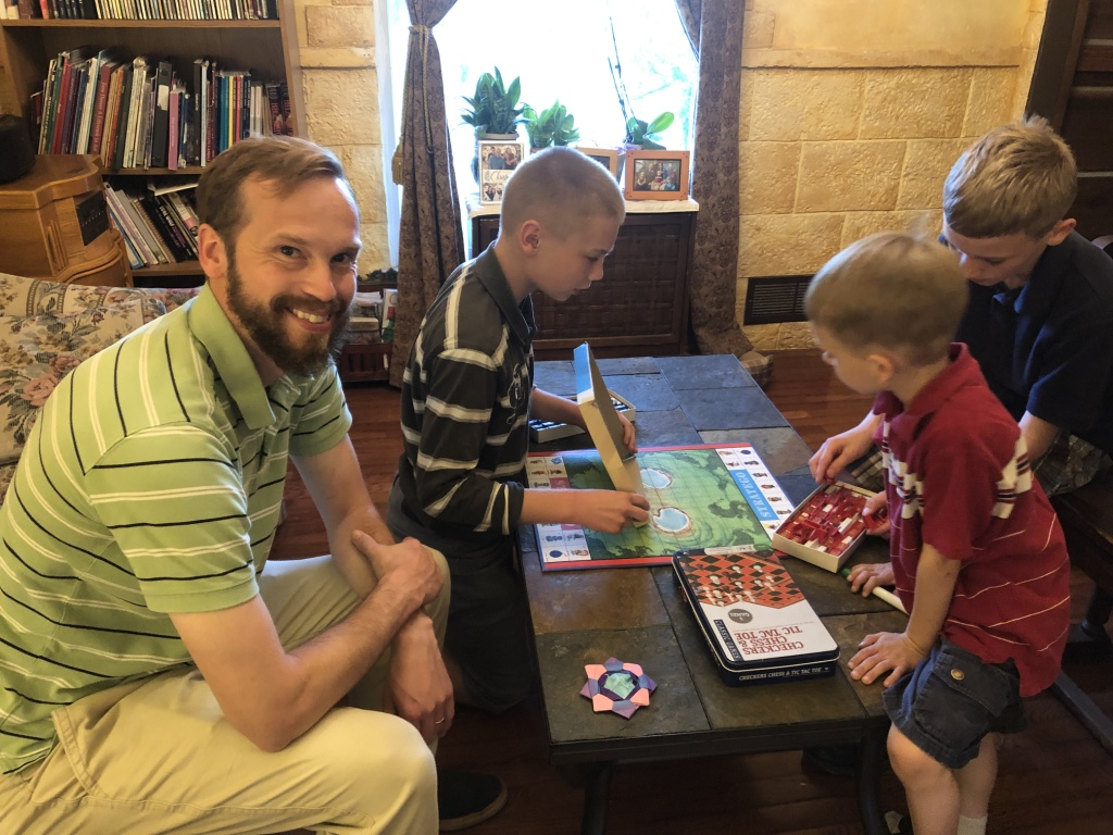 Board Games With Our Nephews