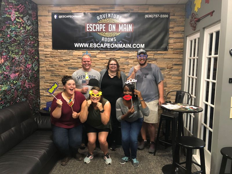 Fun at an Escape Room With Friends