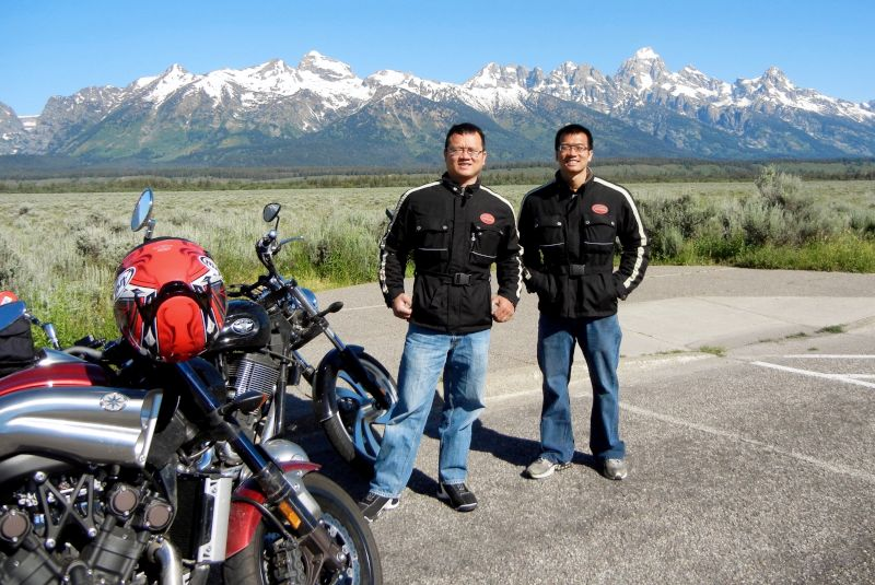 Kiet Riding in the Mountains of Wyoming