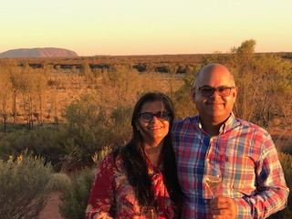 Celebrating Our Anniversary in the Australian Outback