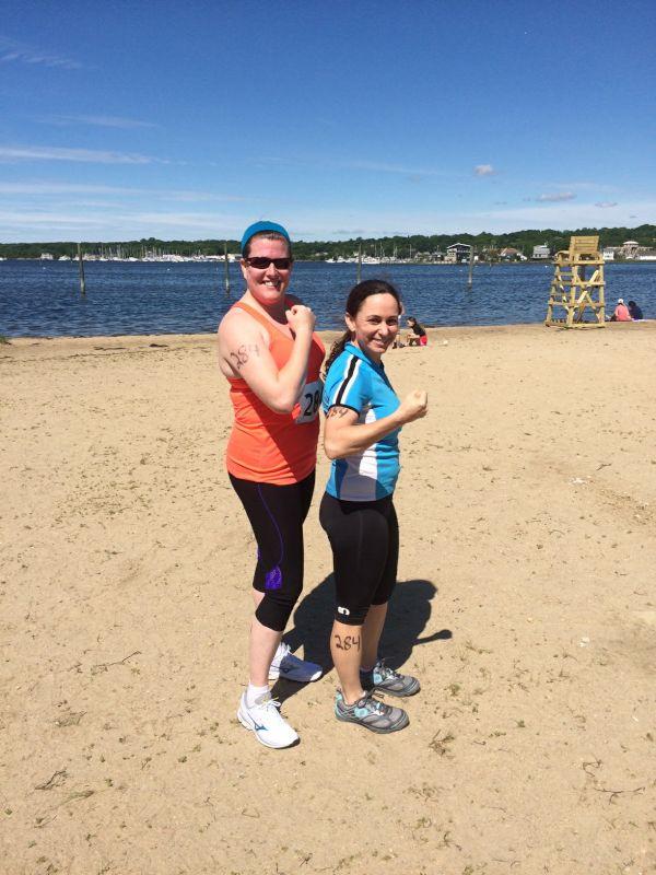 After Our Half-Marathon