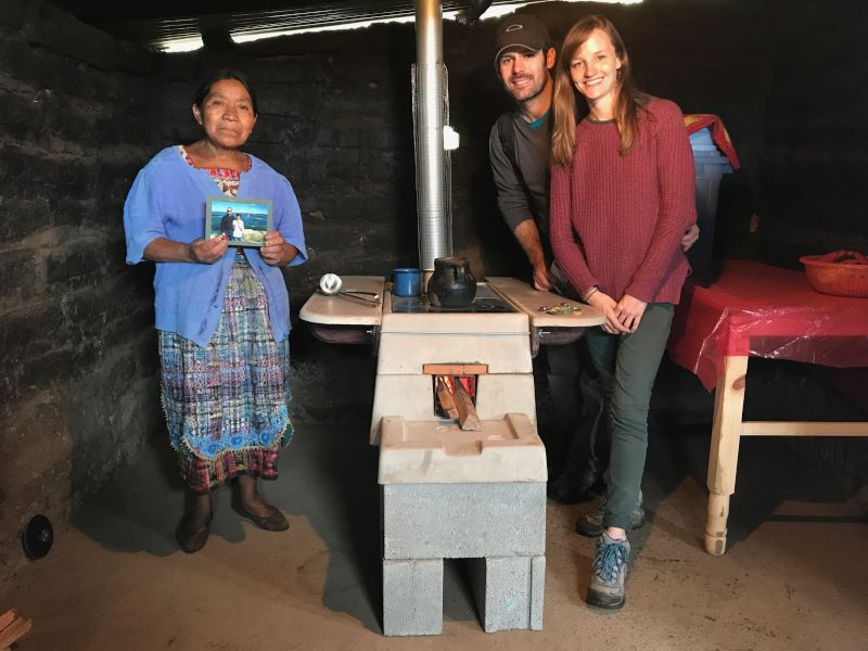 Installing Stoves in Guatemala