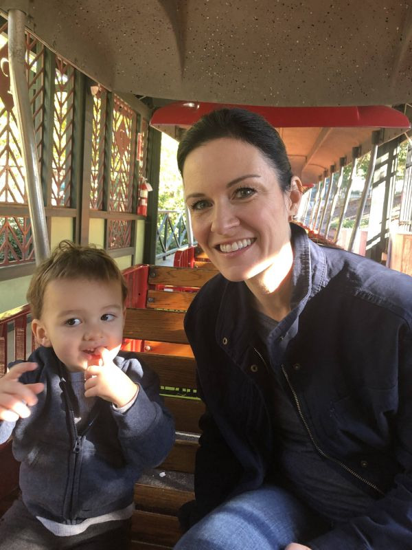 Train Ride at Our Favorite Park