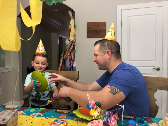 Celebrating Rivers' Birthday