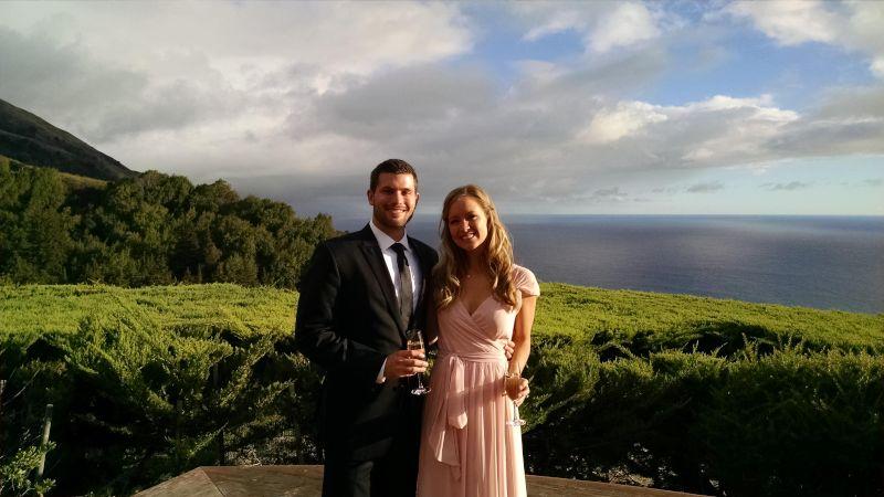 Enjoying the Amazing Views at a Wedding in Big Sur, California