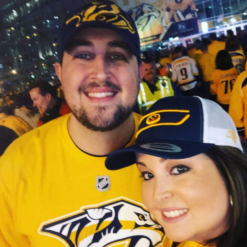 Predators Hockey Game
