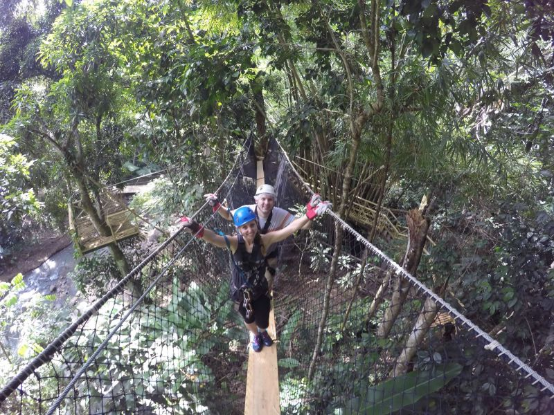 Rope Climbing in the Rainforest