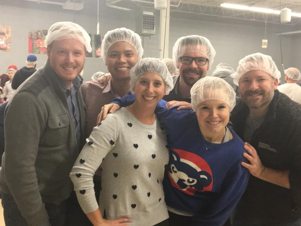 Volunteering Our Time at Feed My Starving Children