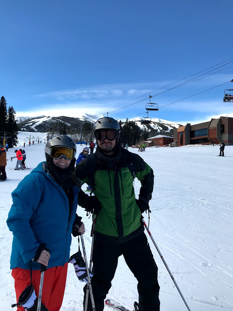 Our First Time Skiing