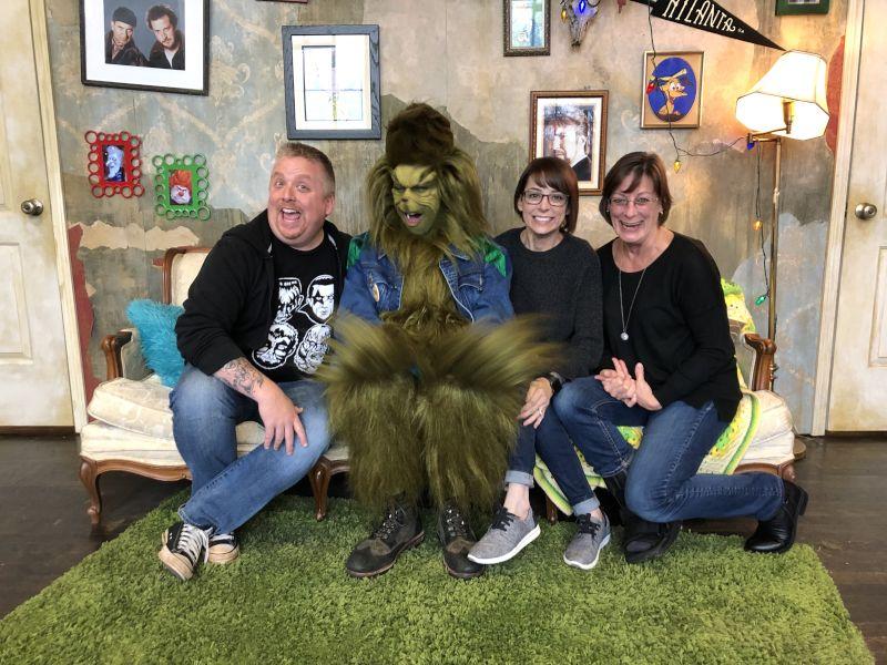 We Met the Grinch!