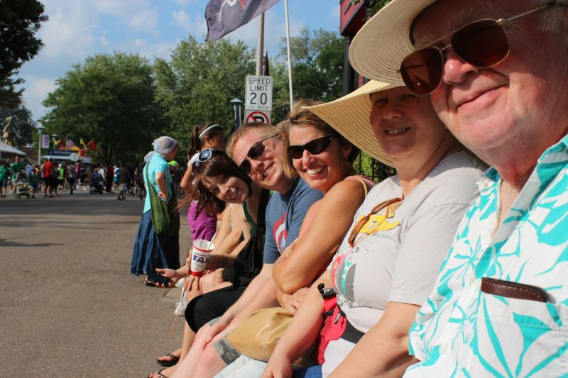 Noel's Family at the Minnesota State Fair