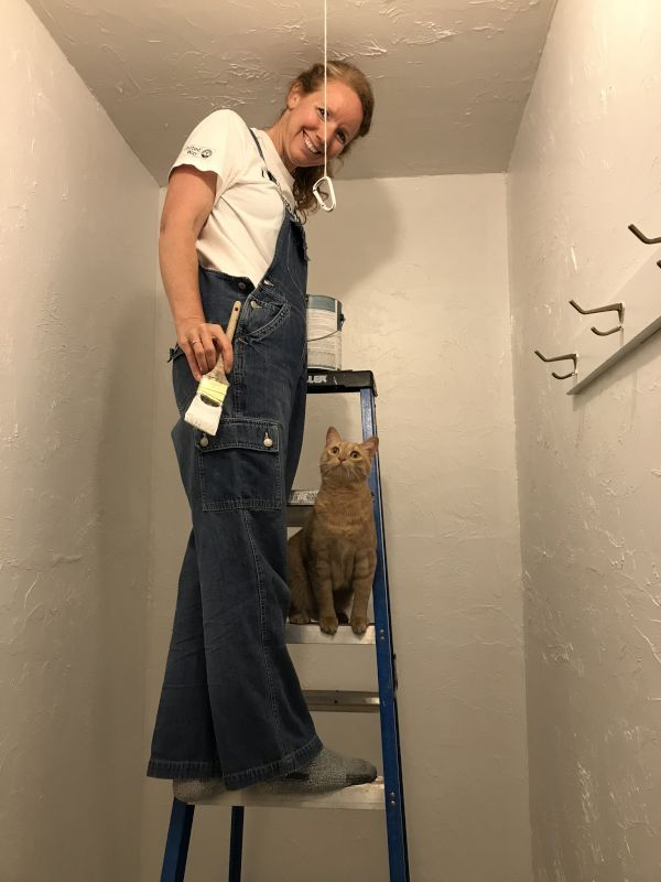 Misty Had a Painting Helper