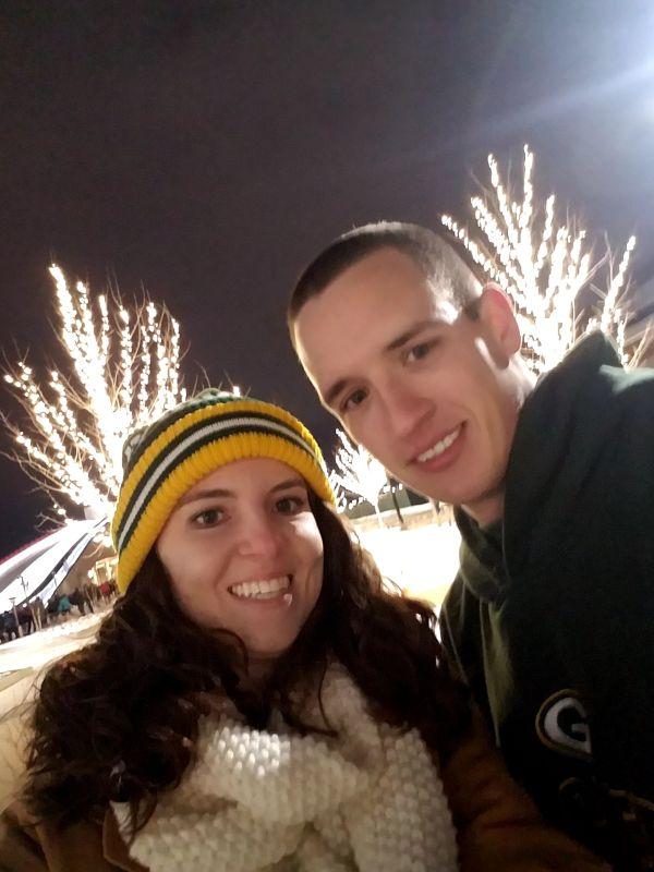 Enjoying the Holiday Lights