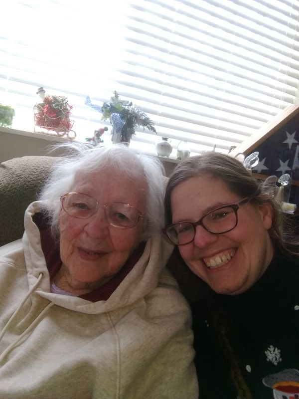 Kelly & Her Grandmother