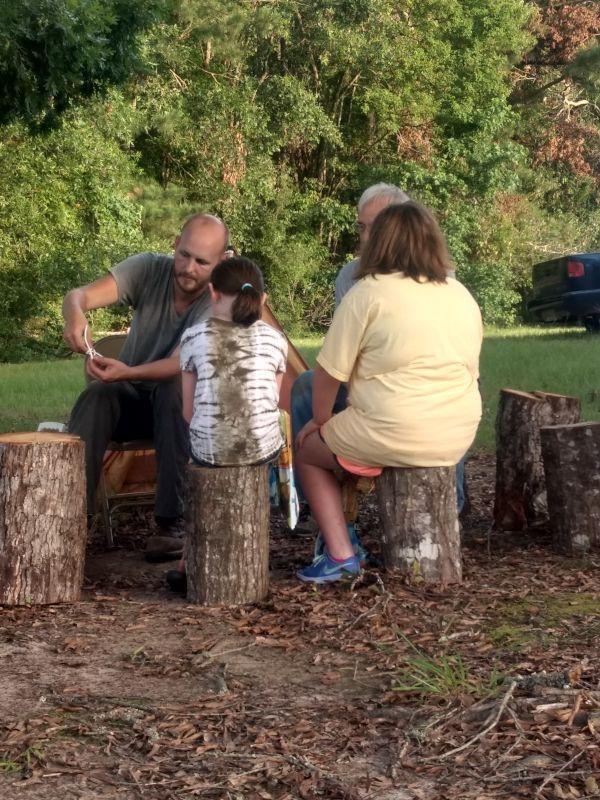 Jonas Teaching at Vacation Bible School