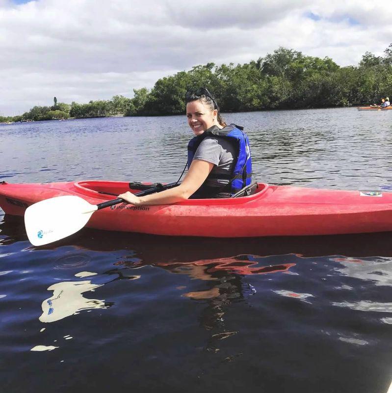 Kayak Adventure With Manatees