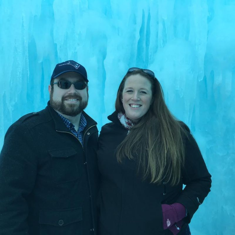 Brrrr - It's Cold at the Ice Castles
