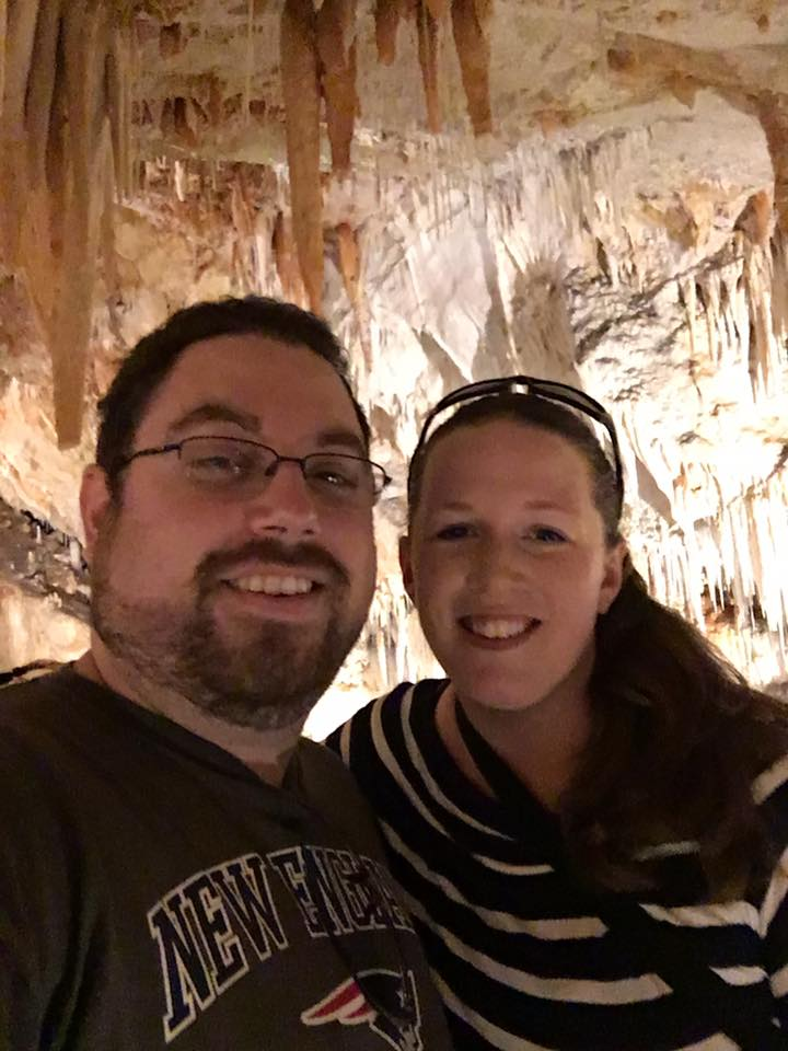 Checking Out the Caves in Bermuda