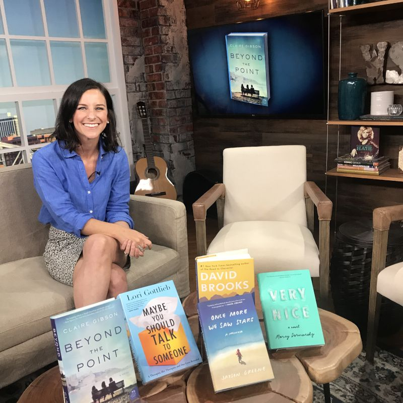 Claire Ready to Talk About Her Book
