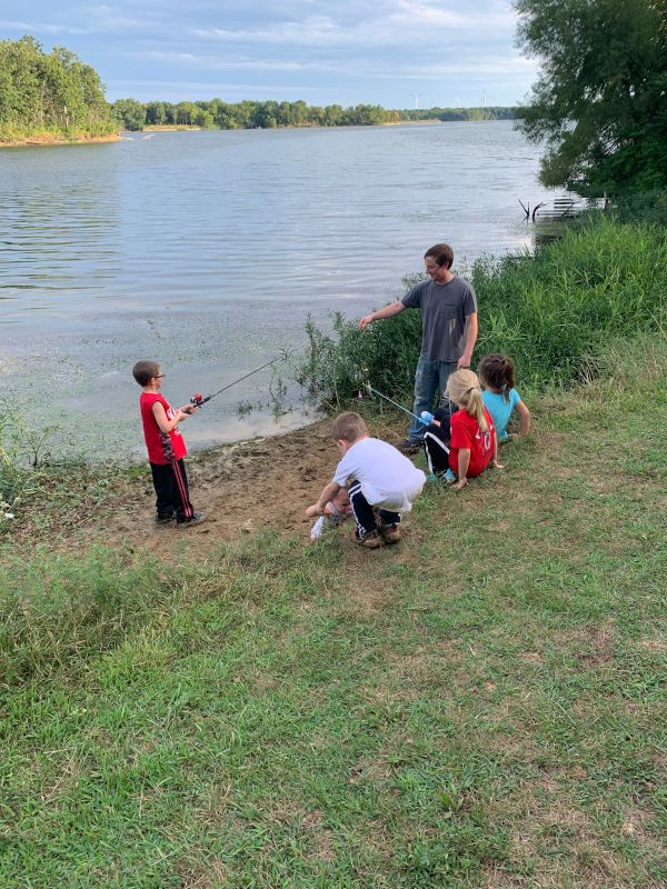 Fishing With Our Friend's Kids
